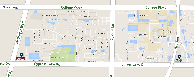 University Grill Location